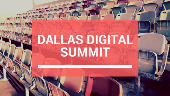 2 Takeaways From Rob's Digital Summit Presentation