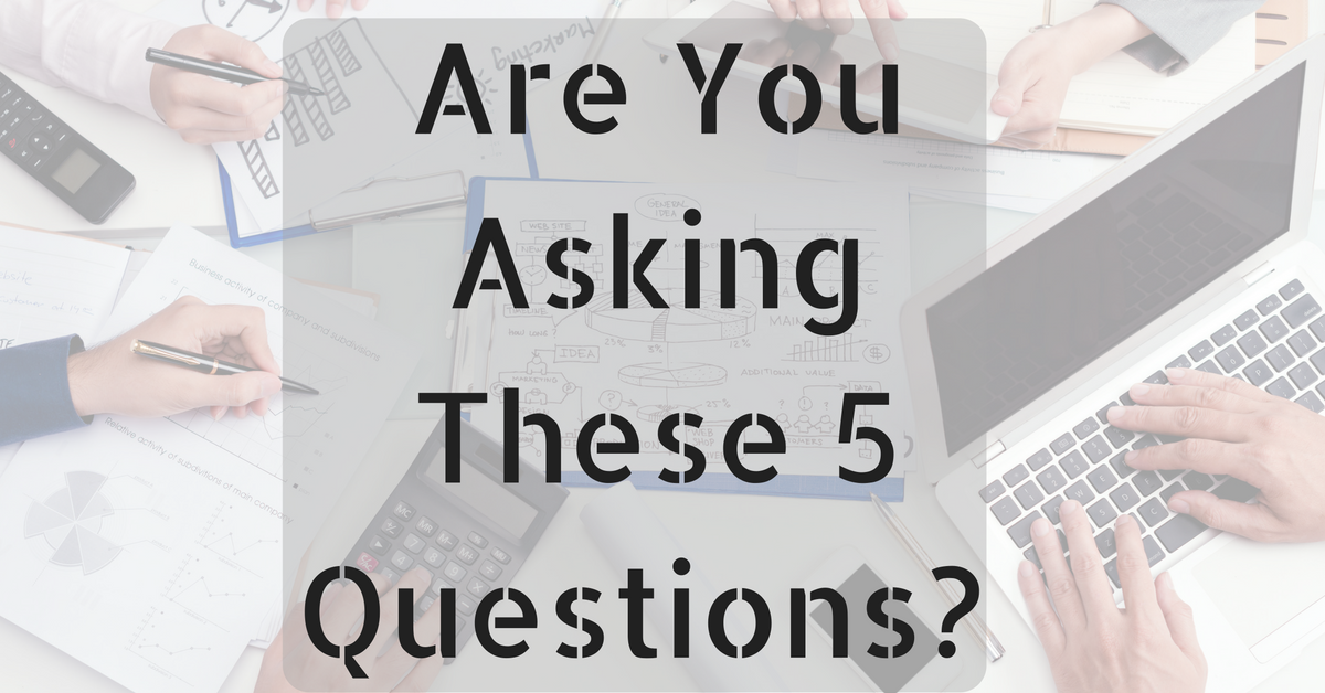 5 Questions To Ask When It Comes To Tracking & Reporting On Marketing Metrics