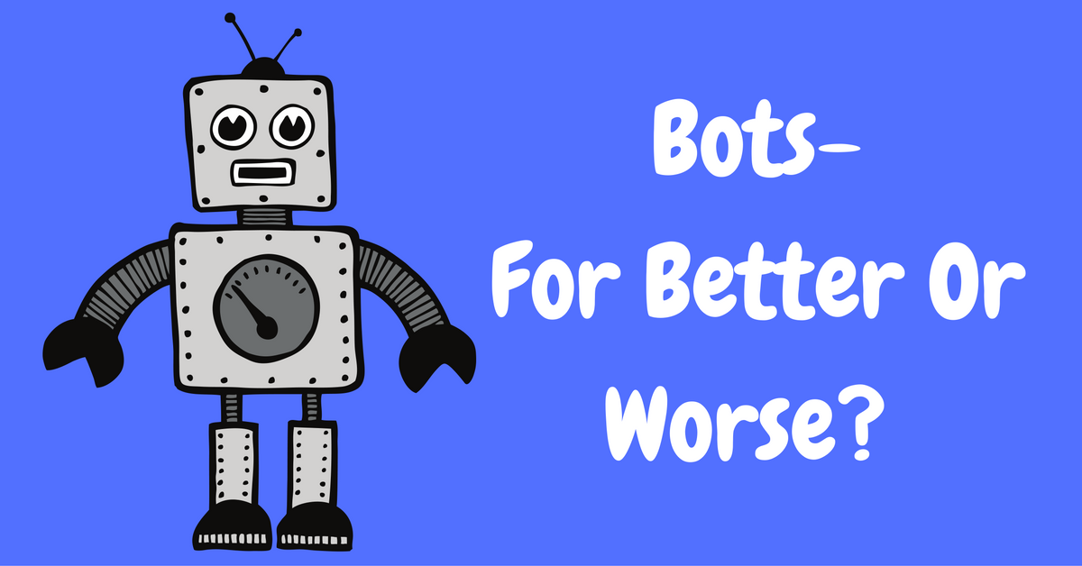 Can Marketers Benefit From Bots?