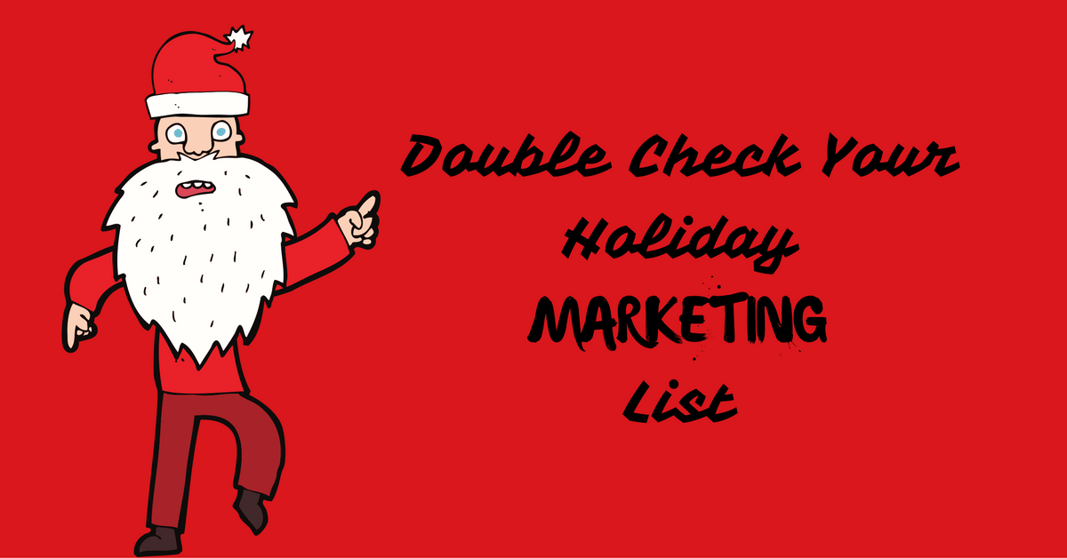What You Might Have Missed During Holiday Planning