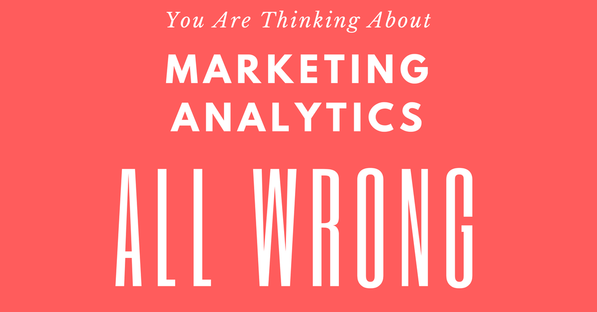 Why Marketing Analytics Is People-Centric