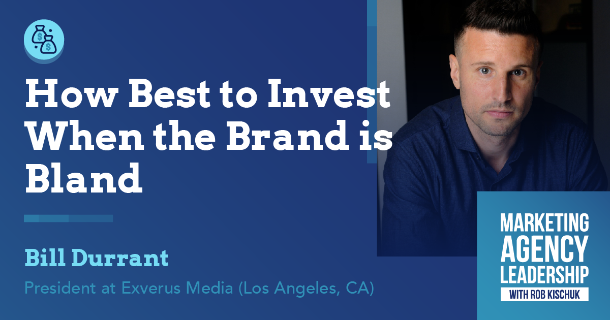 How Best to Invest when the Brand is Bland